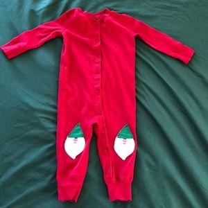 Hanna Andersson Christmas Pajamas - Size 70 (9-12)